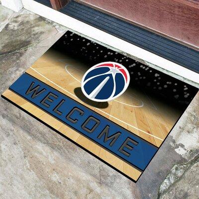 NBA Rubber Doormat NBA Team: Washington Wizards