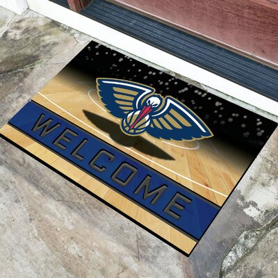 NBA Rubber Doormat NBA Team: New Orleans Pelicans