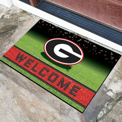 NCAA Rubber Doormat NCAA Team: University of Georgia