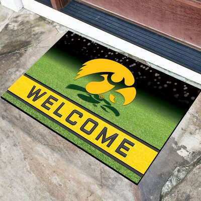NCAA Rubber Doormat NCAA Team: University of Iowa