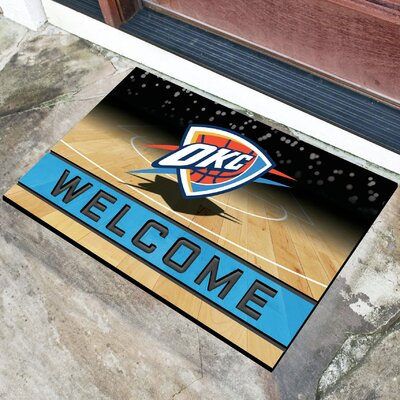 NBA Rubber Doormat NBA Team: Oklahoma City Thunder