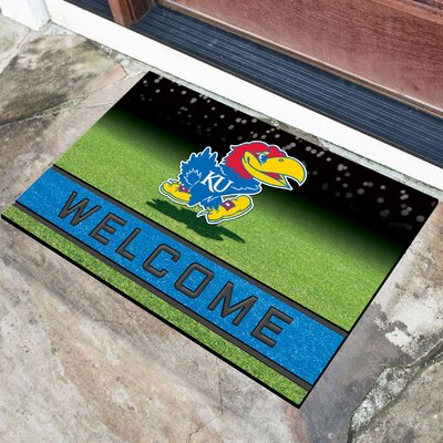NCAA Rubber Doormat NCAA Team: University of Kansas