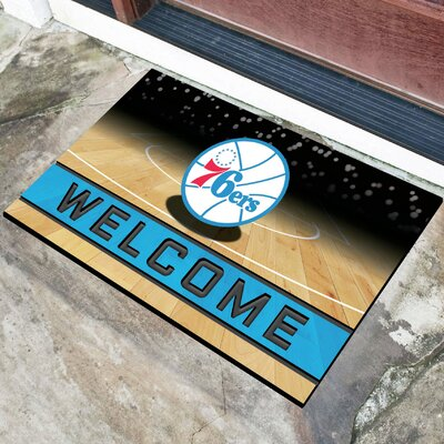 NBA Rubber Doormat NBA Team: Philadelphia 76ers