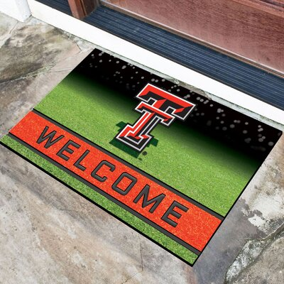 NCAA Rubber Doormat NCAA Team: Texas Tech University