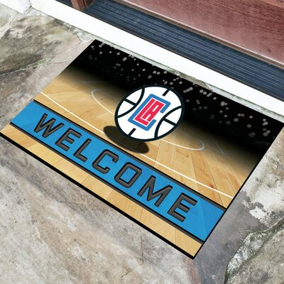 NBA Rubber Doormat NBA Team: Los Angeles Clippers