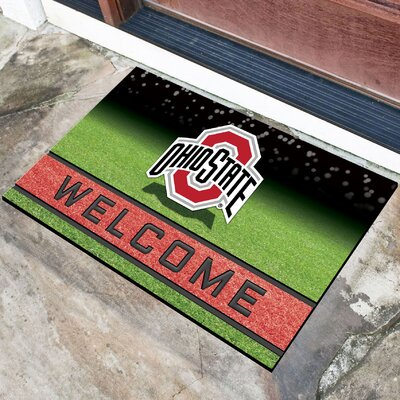 NCAA Rubber Doormat NCAA Team: The Ohio State University
