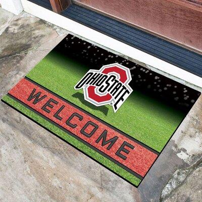 NCAA Rubber Doormat NCAA Team: The Ohio State University
