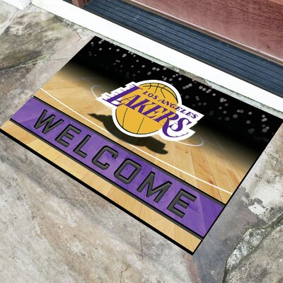 NBA Rubber Doormat NBA Team: Los Angeles Lakers