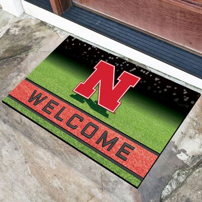 NCAA Rubber Doormat NCAA Team: University of Nebraska, Lincoln