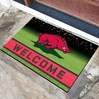 NCAA Rubber Doormat NCAA Team: University of Arkansas, Fayetteville