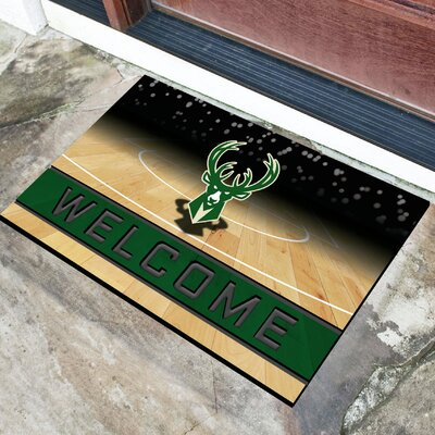 NBA Rubber Doormat NBA Team: Milwaukee Bucks