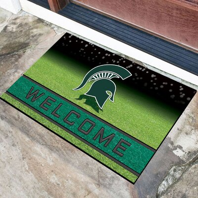 NCAA Rubber Doormat NCAA Team: Michigan State University