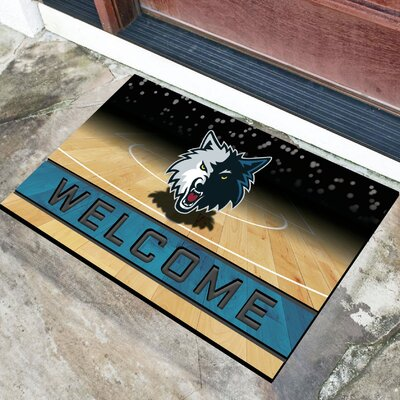 NBA Rubber Doormat NBA Team: Minnesota Timberwolves