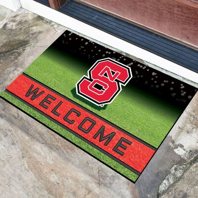 NCAA Rubber Doormat NCAA Team: North Carolina State University