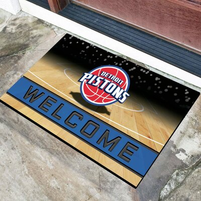 NBA Rubber Doormat NBA Team: Detroit Pistons