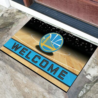 NBA Rubber Doormat NBA Team: Golden State Warriors