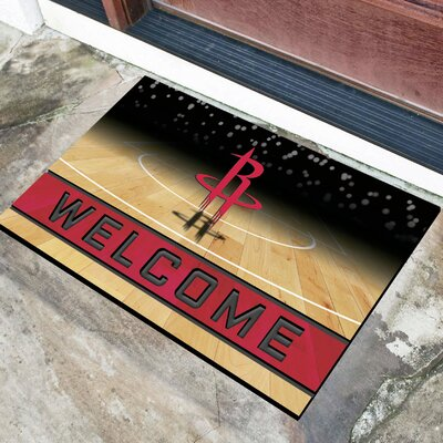 NBA Rubber Doormat NBA Team: Houston Rockets