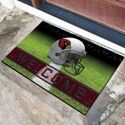 NFL Rubber Doormat NFL Team: Arizona Cardinals