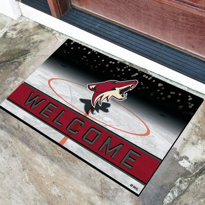 NHL Rubber Doormat NHL Team: Arizona Coyotes