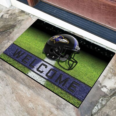NFL Rubber Doormat NFL Team: Baltimore Ravens