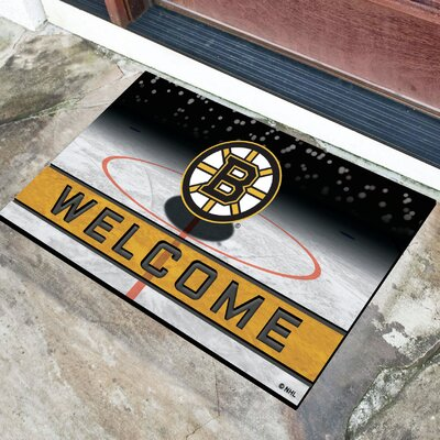 NHL Rubber Doormat NHL Team: Boston Bruins