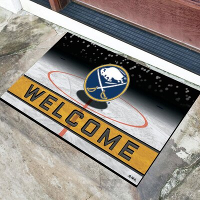 NHL Rubber Doormat NHL Team: Buffalo Sabres