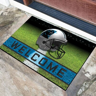 NFL Rubber Doormat NFL Team: Carolina Panthers