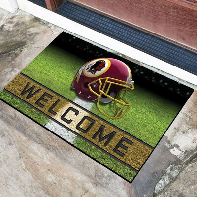 NFL Rubber Doormat NFL Team: Washington Redskins