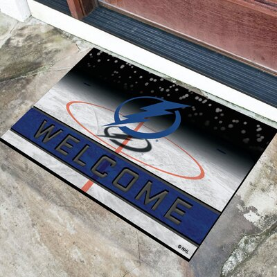 NHL Rubber Doormat NHL Team: Tampa Bay Lightning