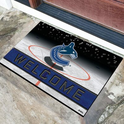 NHL Rubber Doormat NHL Team: Vancouver Canucks