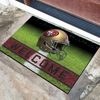 NFL Rubber Doormat NFL Team: San Franscisco 49ers