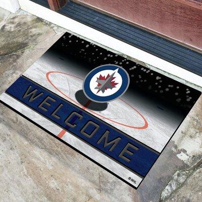 NHL Rubber Doormat NHL Team: Winnipeg Jets
