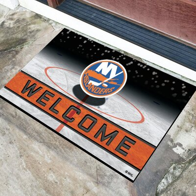 NHL Rubber Doormat NHL Team: New York Islanders