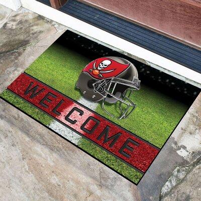 NFL Rubber Doormat NFL Team: Tampa Baby Buccaneers
