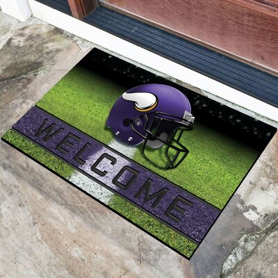 NFL Rubber Doormat NFL Team: Minnesota Vikings