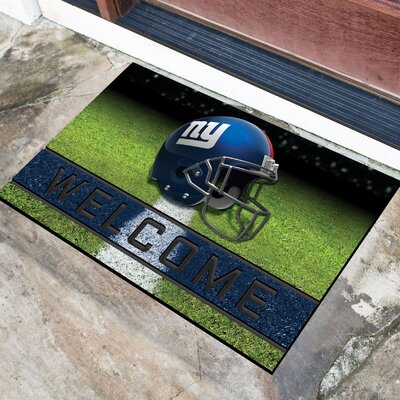 NFL Rubber Doormat NFL Team: New York Giants
