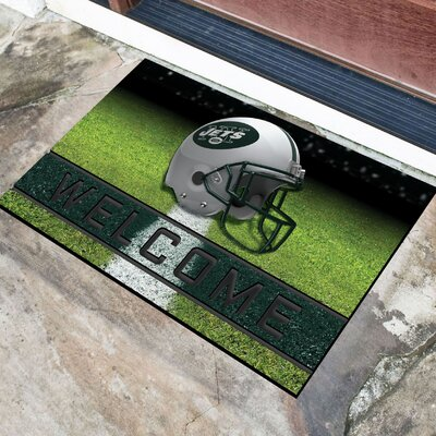 NFL Rubber Doormat NFL Team: New York Jets