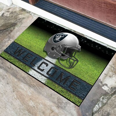 NFL Rubber Doormat NFL Team: Oakland Raiders