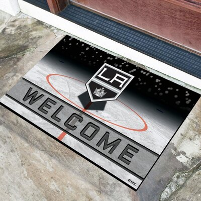 NHL Rubber Doormat NHL Team: Los Angeles Kings