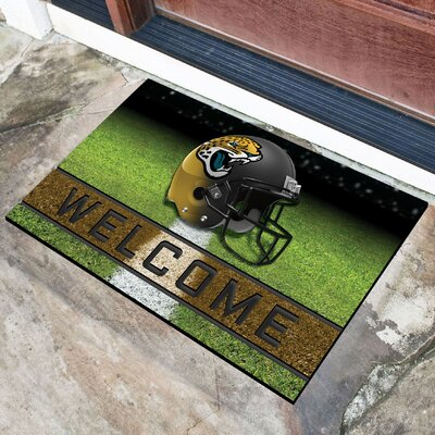 NFL Rubber Doormat NFL Team: Jacksonville Jaguars