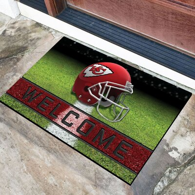 NFL Rubber Doormat NFL Team: Kansas City Chiefs