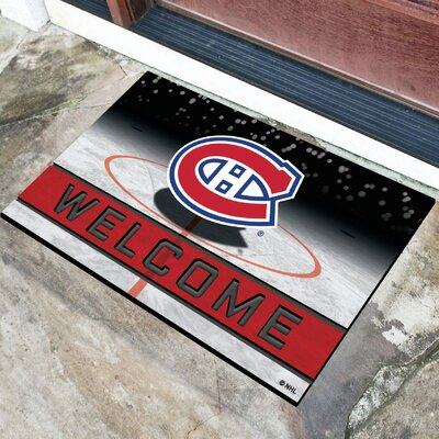 NHL Rubber Doormat NHL Team: Montreal Canadiens