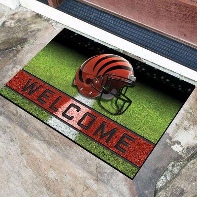 NFL Rubber Doormat NFL Team: Cincinnati Bengals