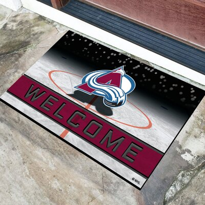 NHL Rubber Doormat NHL Team: Colorado Avalanche