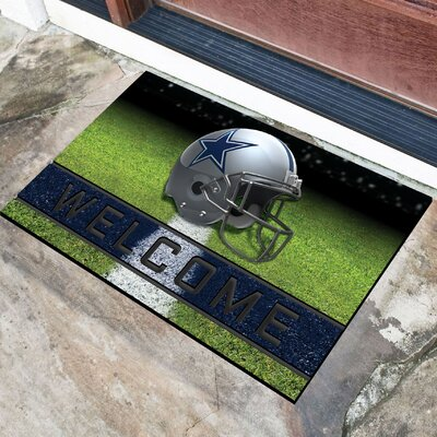 NFL Rubber Doormat NFL Team: Dallas Cowboys