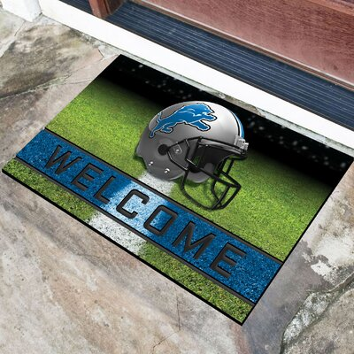 NFL Rubber Doormat NFL Team: Detroit Lions