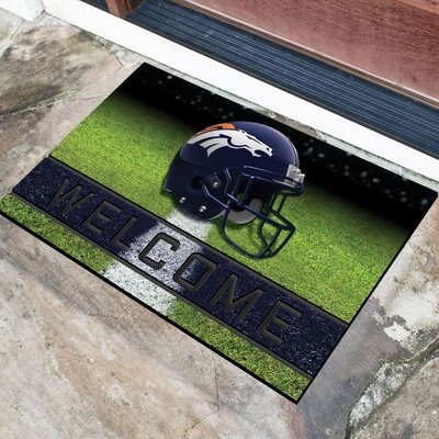 NFL Rubber Doormat NFL Team: Dever Broncos