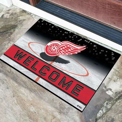 NHL Rubber Doormat NHL Team: Detroit Red Wings