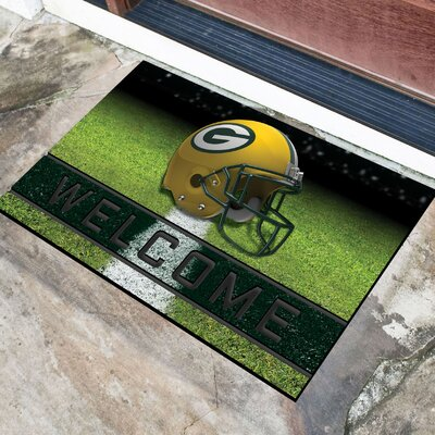 NFL Rubber Doormat NFL Team: Green Bay Packers