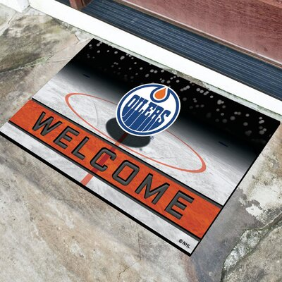 NHL Rubber Doormat NHL Team: Edmonton Oilers